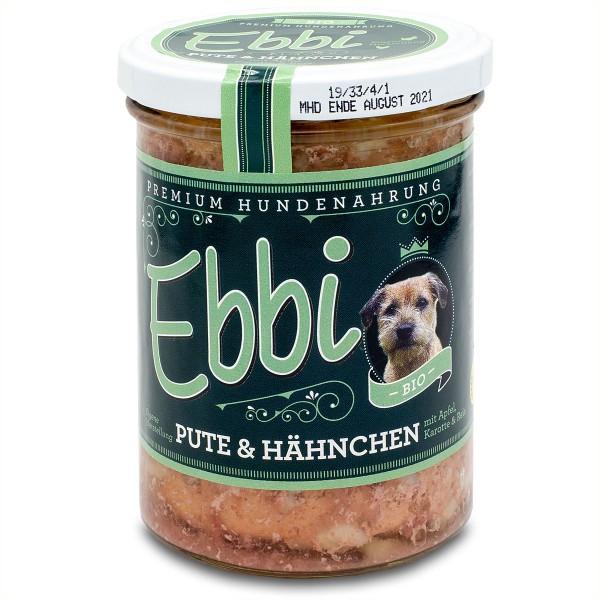 Ebbi Bio Pute und Hähnchen